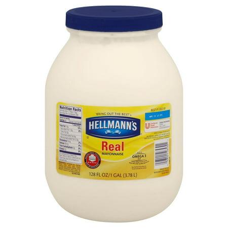 Product of Hellmann's Real Mayonnaise, 128 oz. [Biz