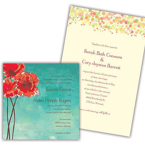 Wedding Gifts At Walmart: Personalized Wedding Stationery