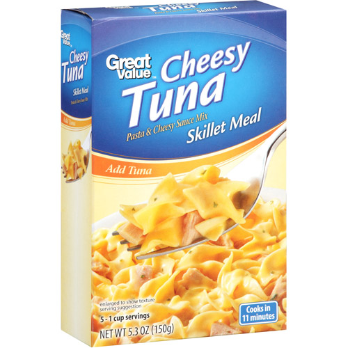 Great Value Cheesy Tuna Skillet Meal, 5.3 oz