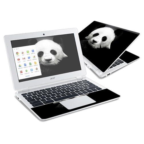 Mightyskins Protective Vinyl Skin Decal Cover for Acer Chromebook 11 CB3-111 Laptop Cover wrap sticker skins Panda