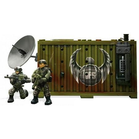 Mega Construx Call of Duty Jungle Satcom Armory (Mega Bloks Call Of Duty Tactical Helicopter)
