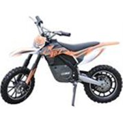 MotoTec 24V Kids Electric Dirt Bike Orange