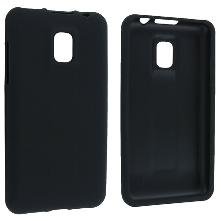 Black Snap-On Hard Case Cover for LG Optimus 2X G2x P990 (Lg Optimus 2x P990)