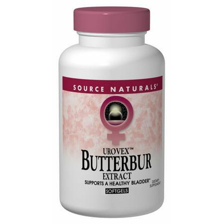 Butterbur Source Naturals, Inc. 60 Softgel