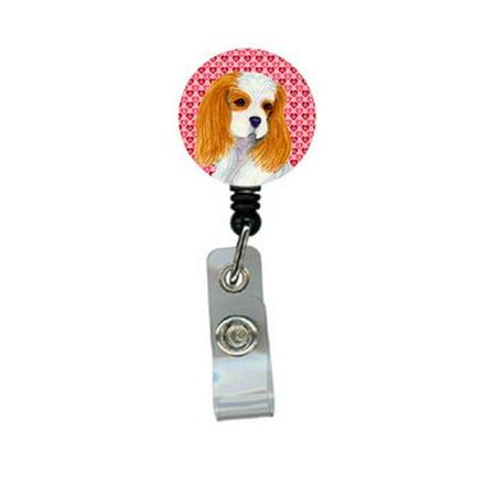 Carolines Treasures SS4527BR Cavalier Spaniel Retractable Badge Reel Or Id Holder With Clip - image 1 de 1