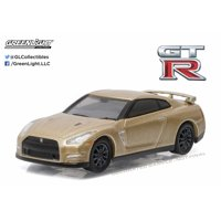 Greenlight 1:64 Anniversary Collection Series 3 2016 Nissan GT-R (R-35) Gold Ed