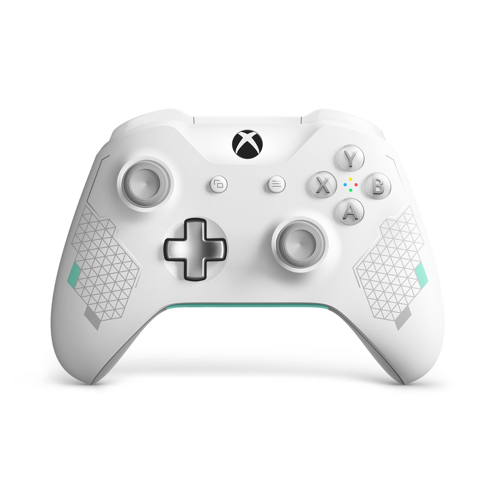 Microsoft Xbox One Wireless Controller, Sport White Special Edition, WL3-00082
