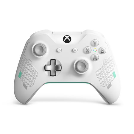 Microsoft Xbox One Wireless Controller, Sport White Special Edition,