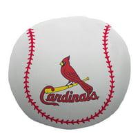 """MLB St. Louis Cardinals 11"""" Cloud Pillow, 1 Each"""