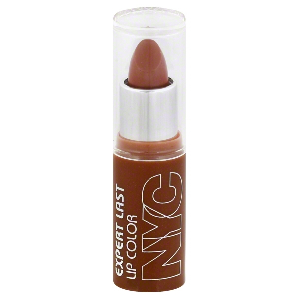 NYC New York Color Expert Last Lipstick, Creamy Caramel