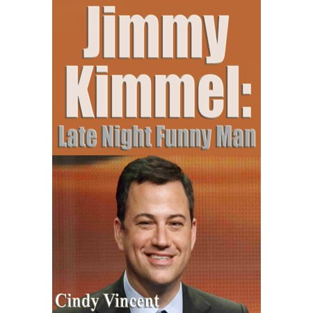 Jimmy Kimmel: Late Night Funny Man - eBook - Halloween Kids Jimmy Kimmel