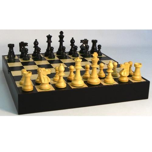 WorldWise Wooden Chess Set with Chest-Like Board - 37BF-BCT