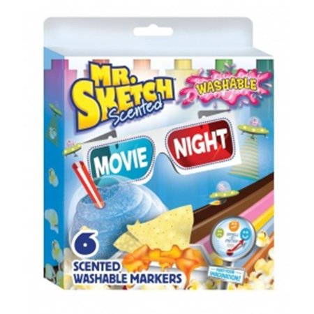 Sanford SN1924260 6-Color Scented Washable Marker Movie