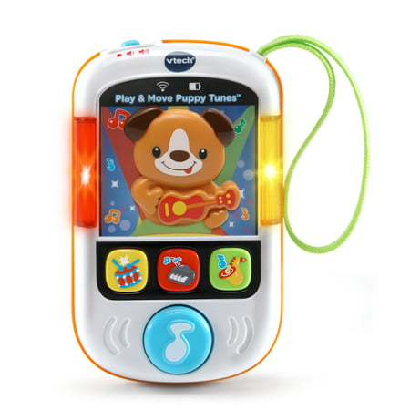 VTech Play & Move Puppy Tunes With 30 Melodies and Moving Puppy