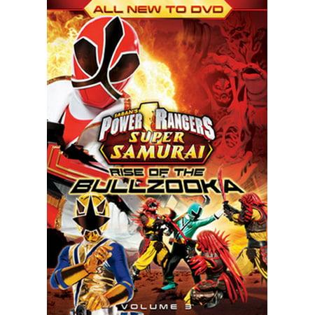 Power Rangers Samurai: Rise of the Bullzooka Volume 3