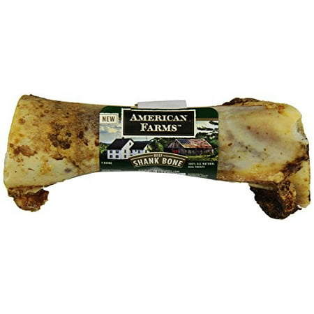 Image of American Farms Jumbo Beef Bone Dog Treat, 13.5""