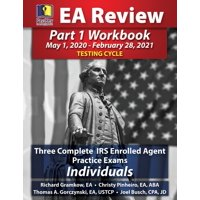PassKey Learning Systems EA Review Part 1 Workbook: Three Complete IRS Enrolled Agent Practice Exams for Individuals (May 1, 2020-February 28, 2021 Testing Cycle) (Paperback)