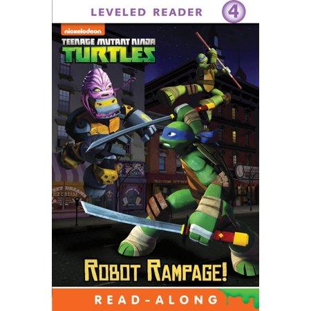 Robot Rampage! (Teenage Mutant Ninja Turtles) - eBook