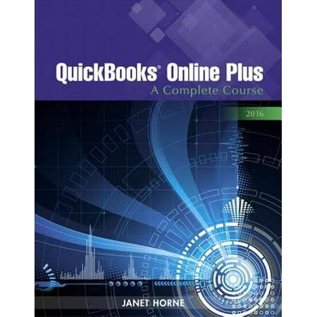 Quickbooks Online Plus 2016  A Complete Course