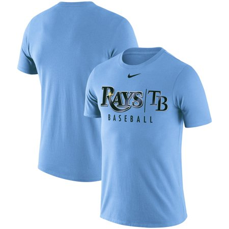 Tampa Bay Rays Nike 2019 Practice T-Shirt - Light Blue