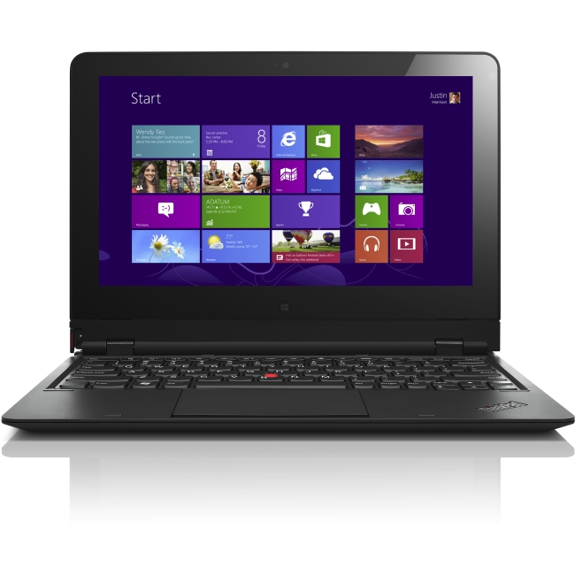 Lenovo ThinkPad Helix 20CG - Ultrabook - Core M 5Y71 / 1.2 GHz - Windows 8.1 Pro 64-bit - 8 GB RAM - 256 GB SSD TCG Opal