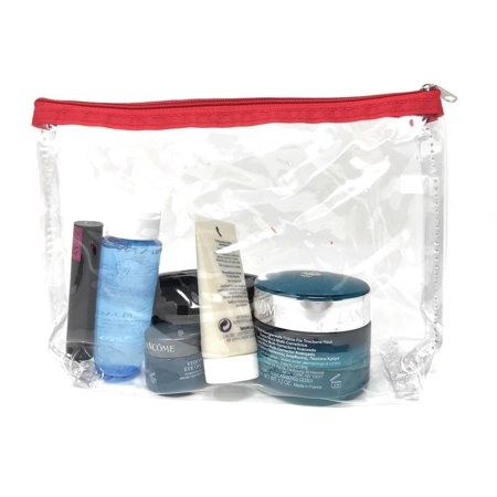 TSA Friendly Unisex Toiletry Clear Cosmetics Pouch Bags Travel Airport (Airport Security Bags)