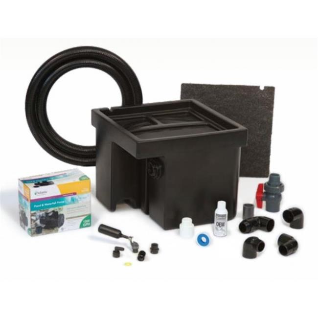 Atlantic Water Gardens CFBASINKIT12 Basin and Pump Kit for 12 inch Spillways