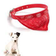 Pet Dog Cat Puppies Collars Scarf Neckerchief Necklace Triangle Red