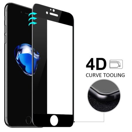 buy popular d18c7 c81f6 Tempered Glass Screen Protector 4D for T-Mobile iPhone 8 PLUS - Verizon  iPhone 8 PLUS - Sprint iPhone 8 PLUS - AT&T iPhone 8 PLUS - Verizon iPhone  7 ...