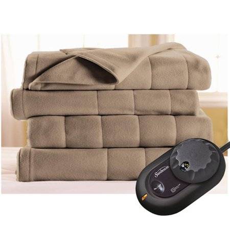 Sunbeam Heated Electric Blanket Royal Dreams Quilted