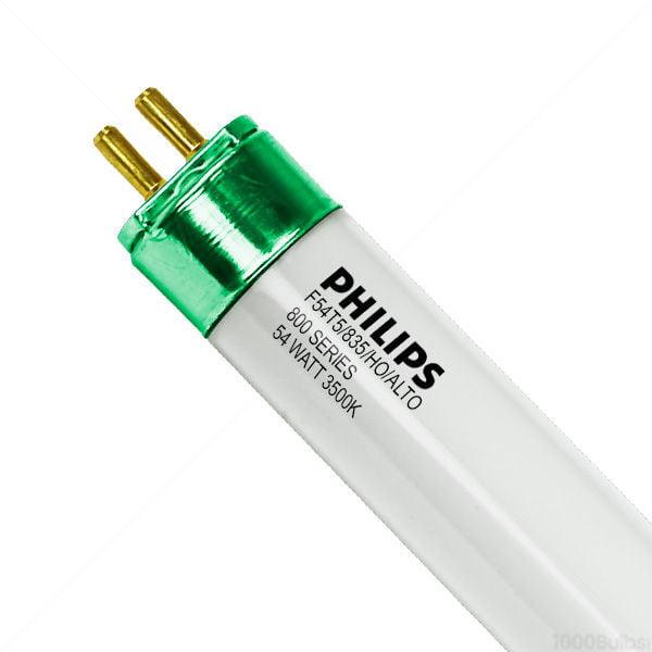 (40/Case) - F54T5/835/HO/ALTO - 54 Watt - T5 High Output - 3500K - 800 Series Phosphors - Philips 29028-8