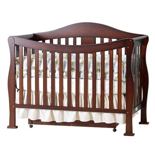 DaVinci Parker 4-in-1 Convertible Crib Only , Coffee
