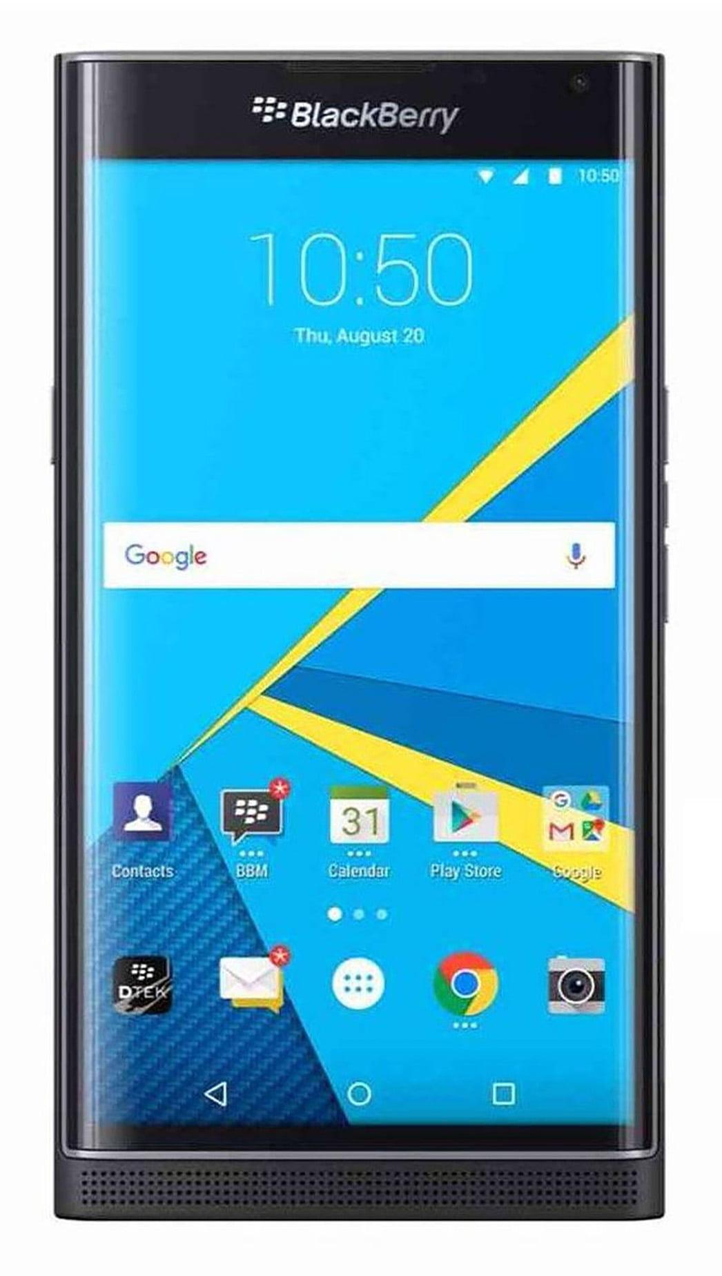 Celular BlackBerry Priv STV100-1 desbloqueado GSM Slider Android teléfono celular - negro (Certified Refurbished) + BlackBerry en VeoyCompro.com.co
