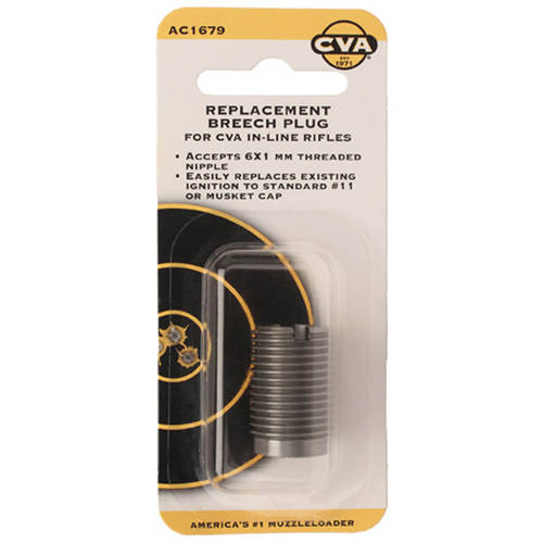 CVA #11 and Musket Replacement Breech Plug