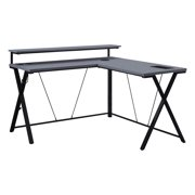 OSP Home Furnishings Constellation L Shaped Home Office Gaming Editing Desk