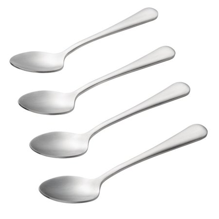 BonJour Coffee Accessories Stainless Steel Espresso / Demitasse Spoon Set, -