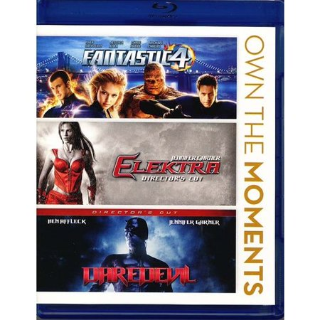Daredevil / Elektra / The Fantastic Four (Blu-ray) (Widescreen) - Garner Affleck Halloween