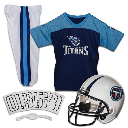 Franklin Sports NFL Tennessee Titans Youth Licensed Deluxe Uniform Set, Small