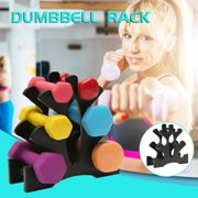 Cotonie Dumbbell Rack Stand 3 Tier Dumbbells Hand Weights Sets Holds 30 Pounds
