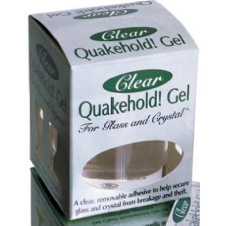 2PK Quakehold 4 OZ Clear Gel Removable ()