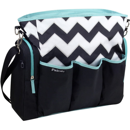 iPack Tote Diaper Bag, Chevron