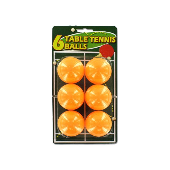 Set of six table tennis balls - Pack of 24