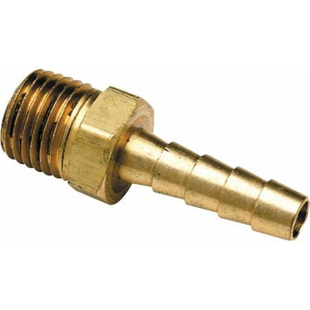 69 Hose Polished Brass - Seachoice Brass Male Hose Barb