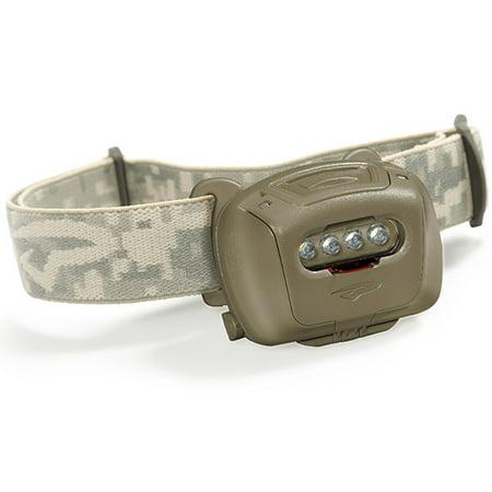Princeton Tec Tactical Quad Headlight Olive Quad-TAC-OD