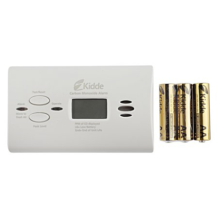 Kidde Battery Operated Carbon Monoxide Alarm with Digital Display (Best Place To Place Carbon Monoxide Detector)