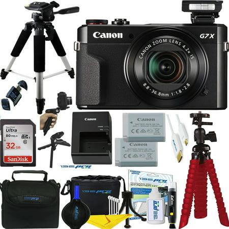 Canon PowerShot G7 X Mark II 20.1MP 4.2x Optical Zoom Digital Camera + Buzz-photo Accessories Bundle - International Version