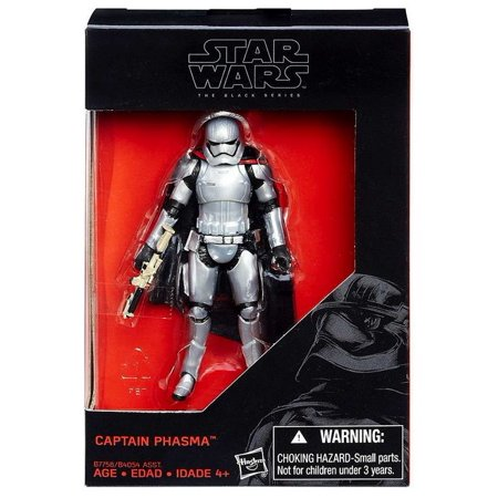 Star Wars The Force Awakens Black Series Captain Phasma 3.75 Inch Figure