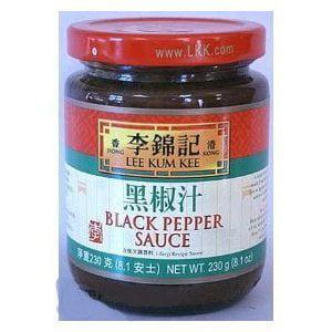 Lee Kum Kee Black Pepper Sauce 8.1-ounce Jars (Pack of 3) by