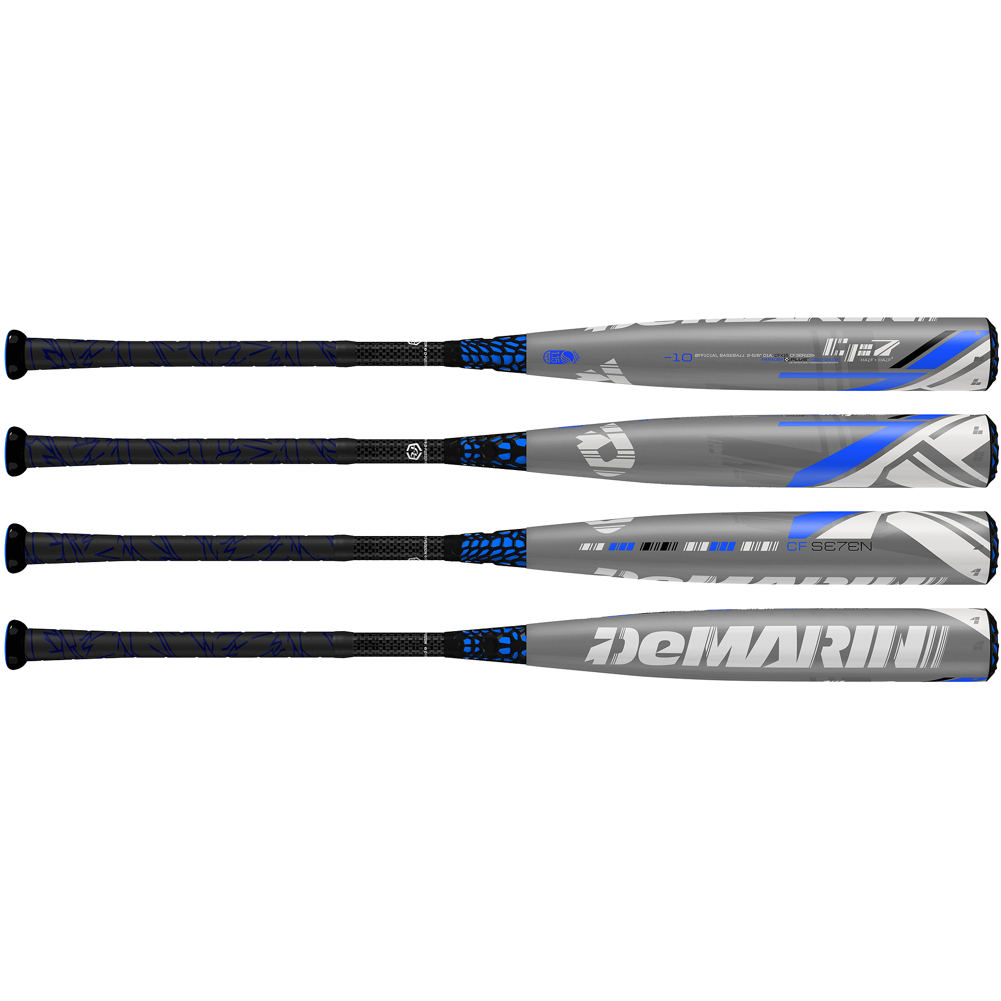 "DeMarini CF7 Youth Big Barrel (2-5/8"") -10 Baseball Bat"