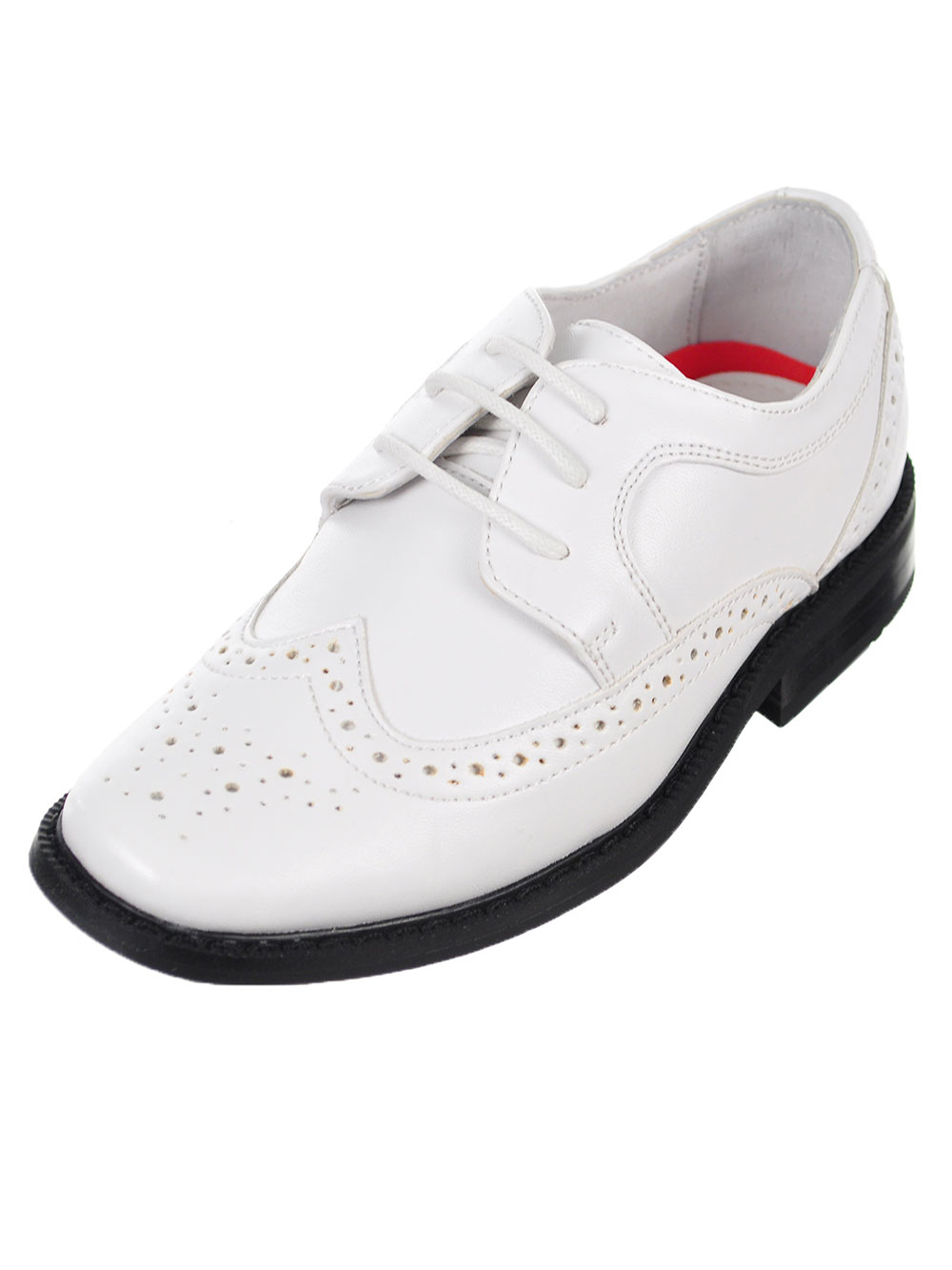 "Joseph Allen Boys' ""Worsted Wingtip"" Dress Shoes (Toddler Sizes 9 - 12)"